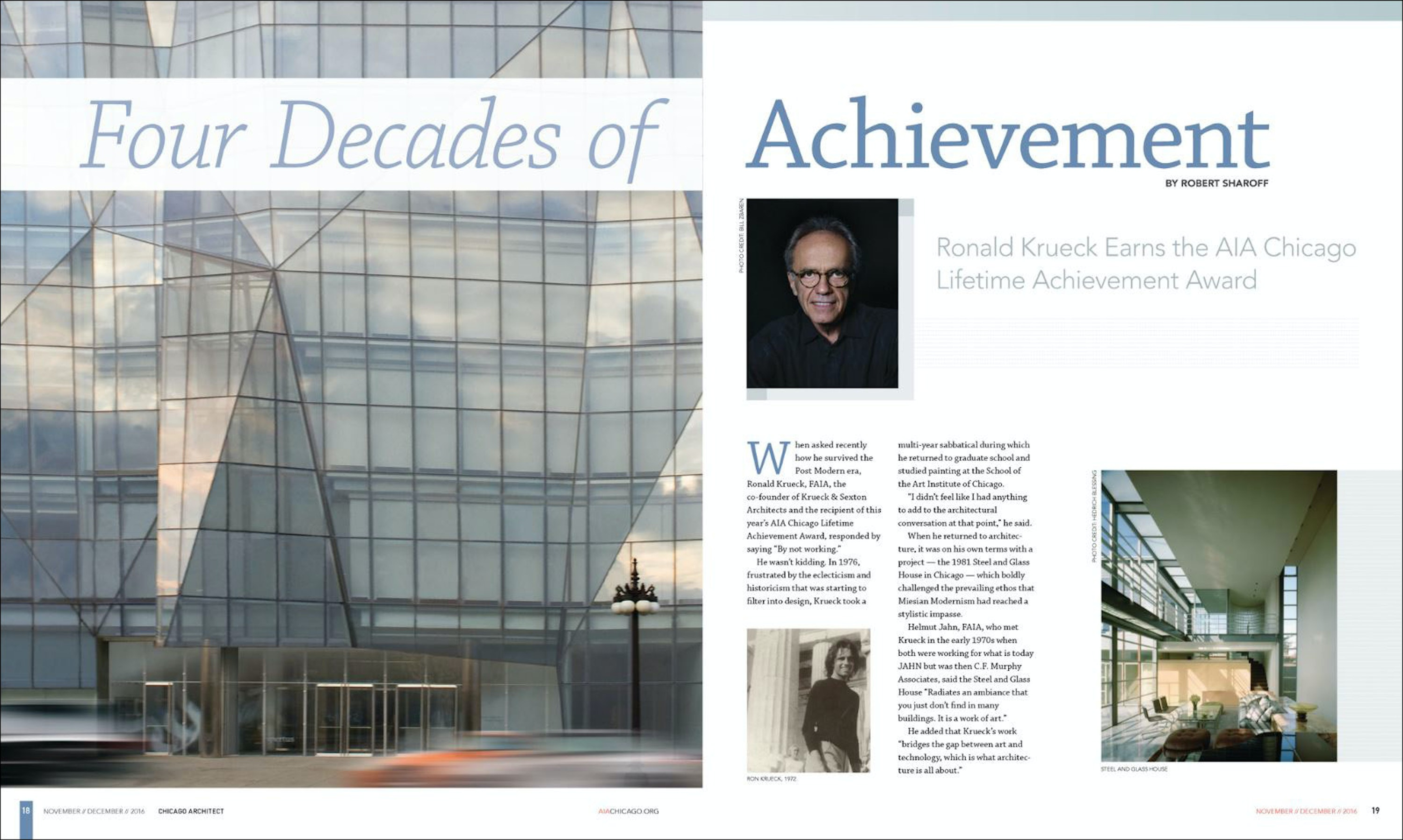 Chicago Architect: Four Decades of Achievement 01