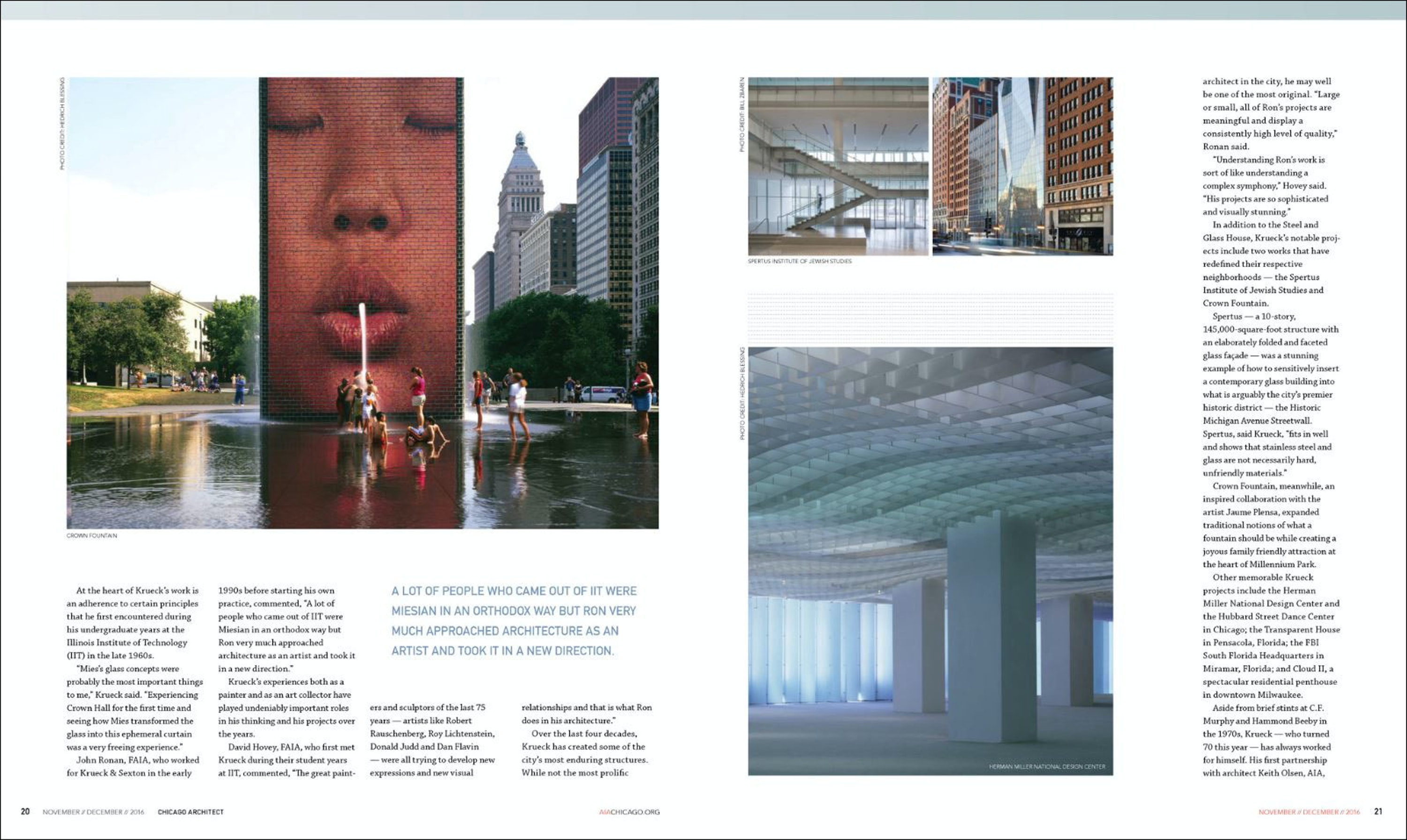 Chicago Architect: Four Decades of Achievement 02