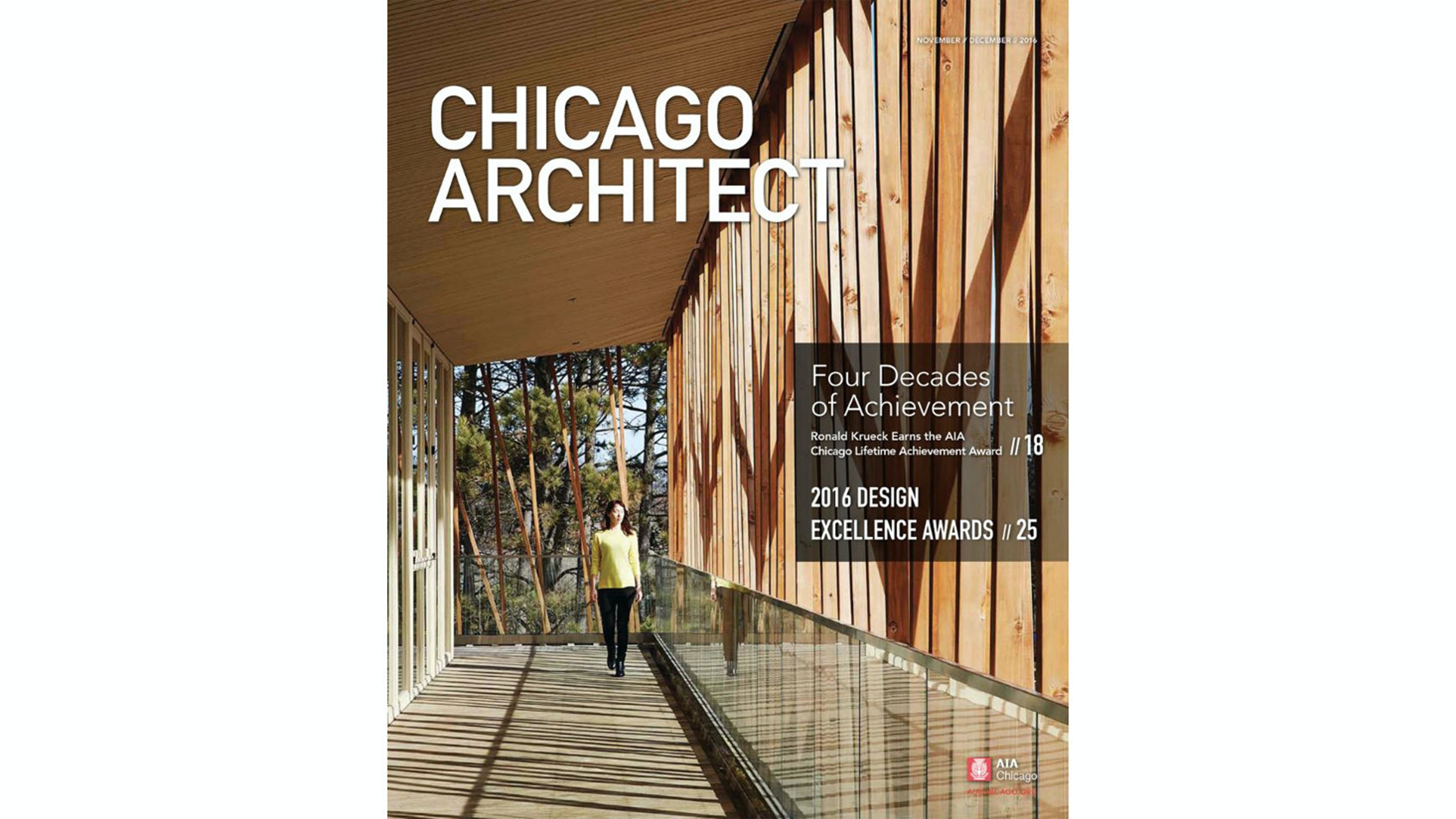 Chicago Architect: Four Decades of Achievement Thumbnail