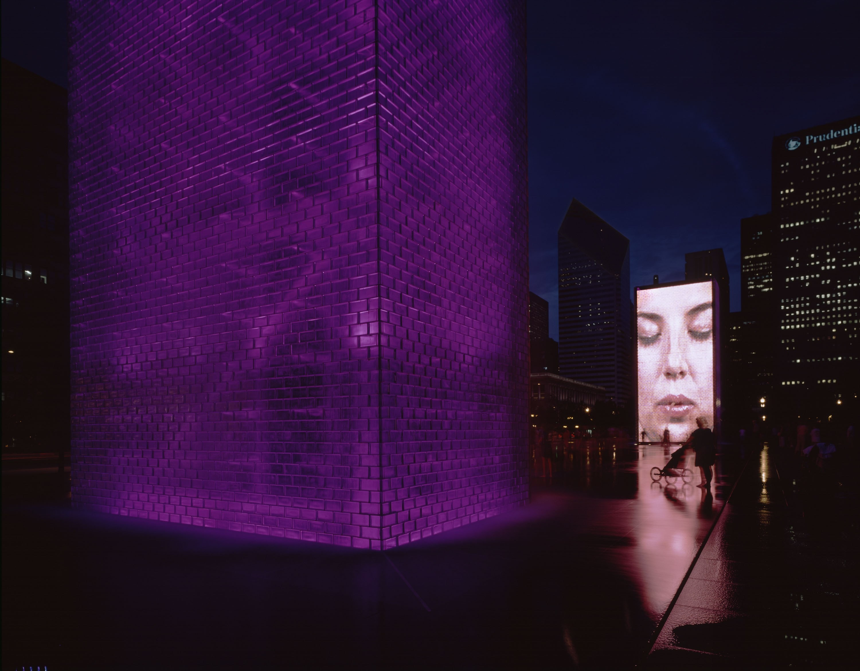 Crown Fountain 05