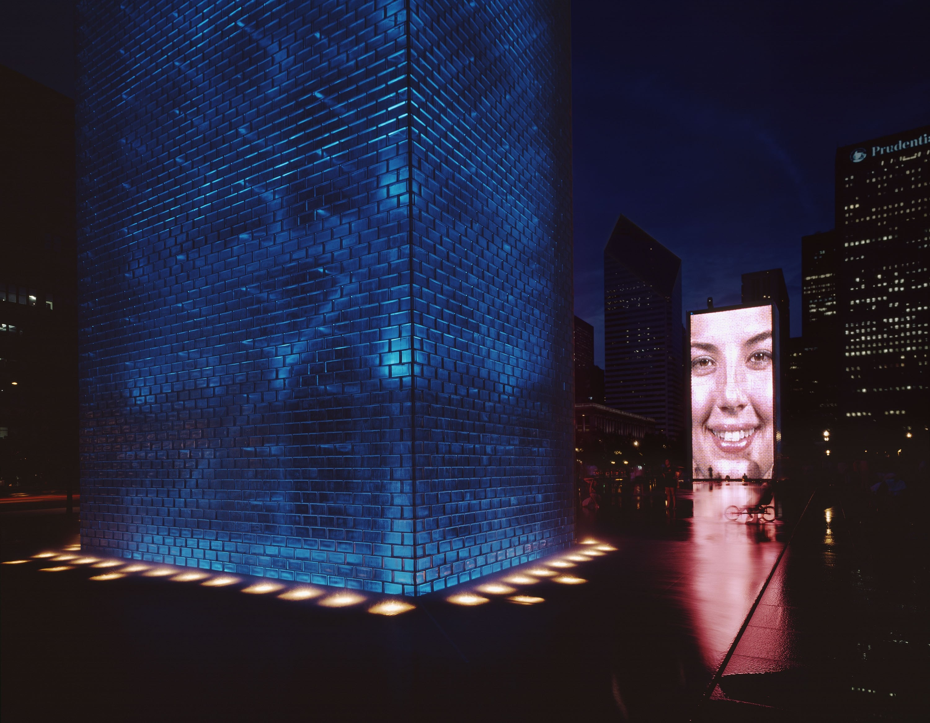 Crown Fountain 06