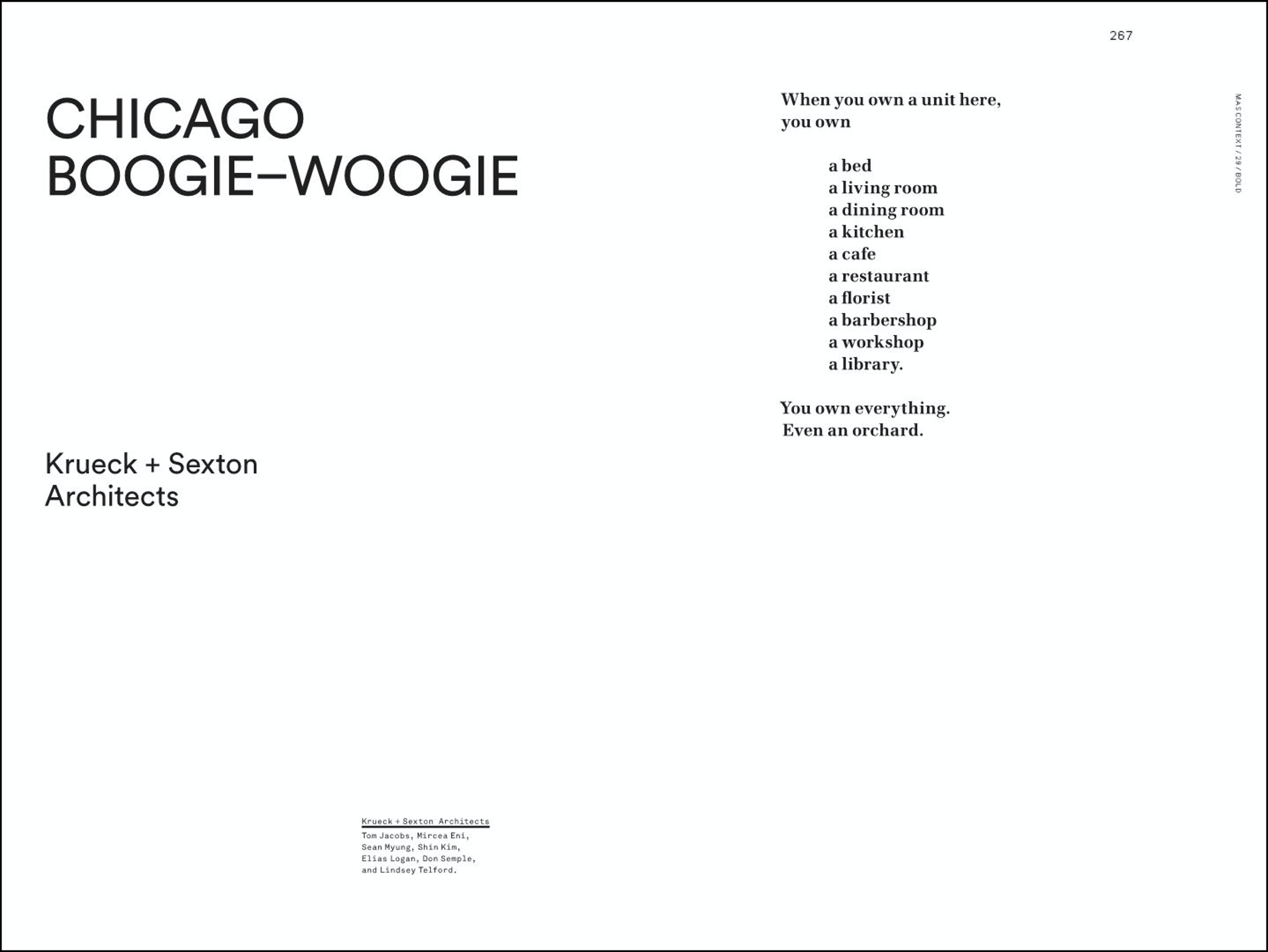 Mas Context: Chicago Boogie-Woogie 02