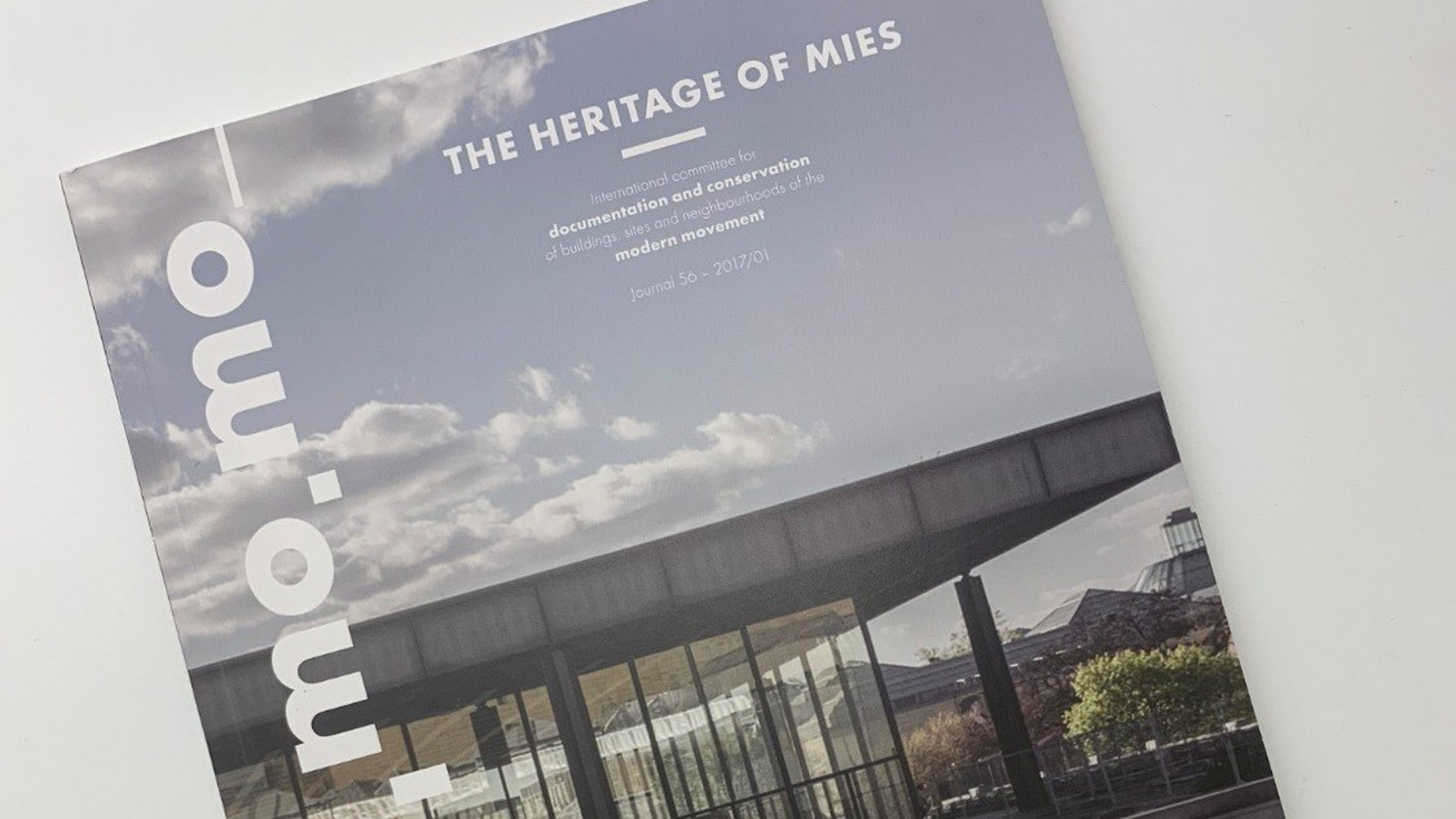 More copies of DOCOMOMO The Heritage of Mies in print Thumbnail