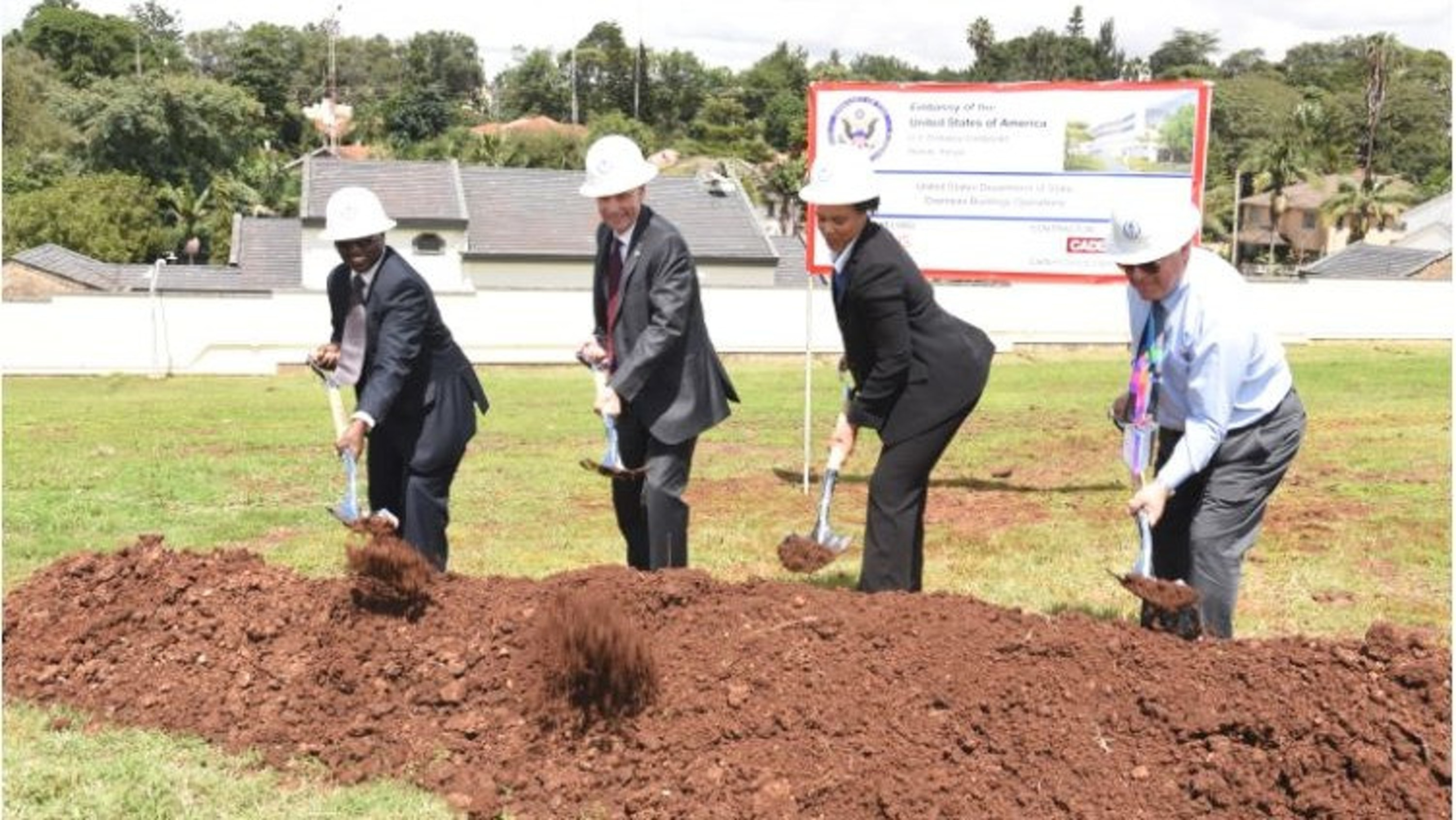 US Embassy - Nairobi Breaks Ground Thumbnail
